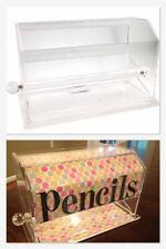 Pencil/Straw Dispenser, Acrylic, Clear