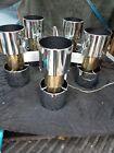 RETRO LIGHTOLIER CHROME CHANDELIER 10 LIGHT MCM CEILING LIGHT ATOMIC LAMP