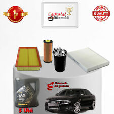 Replacement Filter Kit and Oil Audi A4 II B6 1.9 Tdi 96KW 130CV from 2002 ->