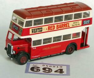 L694 EFE 26502 London Transport Bristol Utility bus 1/76
