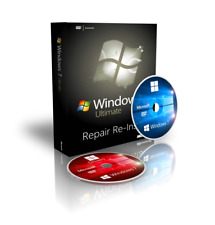 Italiano Windows 7 Ultimate 64 Bit Recovery Boot CD DVD + Drivers + ISO Download