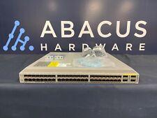 Cisco Nexus N3K-C3064PQ-10GX 3064-E 48 SFP+ 4 QSFP+ ports N3K-LAN1K9 w/ dual AC