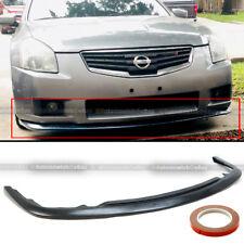 For  07-08 Nissan Maxima 4Dr Sedan JDM Front Bumper Body Kit Splitter Chin Lip
