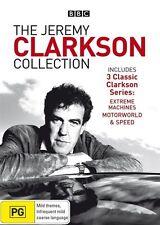 Jeremy Clarkson - Extreme Machines / Motorworld / Speed (DVD, 2008)