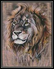 Lion - Cross Stitch Chart/Pattern/Design/XStitch