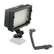 Pro GY-HM790 2 HD LED video light for JVC GY-HM790U GY-HM150U GY-HMZ1U camcorder