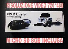 OCCHIALI VIDEO SPIA DA SOLE 720x480 CON VIDEOCAMERA FOTOCAMERA + MICRO SD 8GB