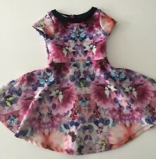 Ted Baker Butterfly & Flower Print Dress - Age 6