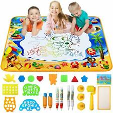 Doodle Mat, Large Aqua Magic Water Drawing Mat Toy Gifts for Boys Girls Kids