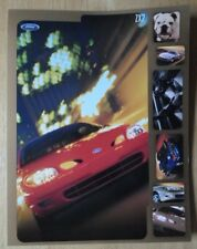 FORD ZX2 ORIG 1999 USA MKT ventes NOTICE Brochure