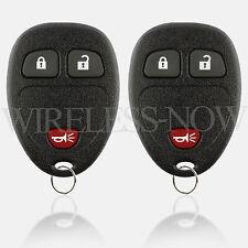 2 Car Key Fob Entry Remote 3Btn For 2005 2006 2007 2008 2009 Chevrolet Uplander