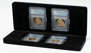 2007-S U.S PRESIDENTIAL DOLLAR 4 COIN SET ICG PR69 DCAM IN BOX W/COA STUNNING