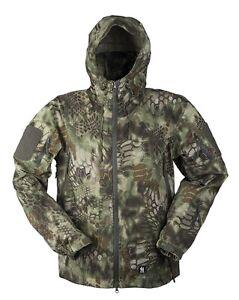 Hardshell Jacke Breathable mandra wood,Regenjacke, Army, Outdoor, Jagd     -NEU-