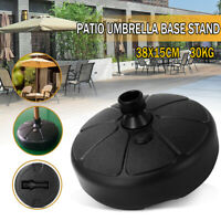 Patio Yard  Outdoor Round Parasol Umbrella Stand Base Fillable Weight 66 Pound