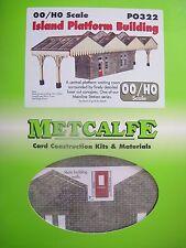 Metcalfe Kit PO322. Island Platform Building. OO Gauge