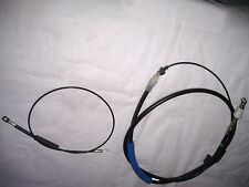 VOLVO 740 760 REAR HAND BRAKE CABLES PAIR LH+RH 1982 to 1987 VJB425 VJB426