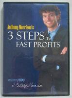 Anthony Morrison's 3 Steps To Fast Profits (2009,DVD) Affiliate Marketing