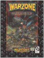 Target Games: Warzone Casualties of War Soft Cover - Good Condition