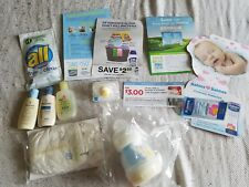 Newborn baby box (coupons) (Diaper) (botlle) and more