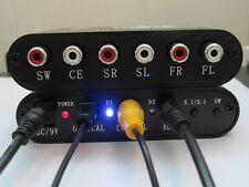 New SPDIF 5.1/2.1-Channel DTS/AC-3 Home Theater Audio Decoder Gear SurroundSound