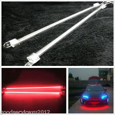 "2x6""&2x12"" Red LED CCFL Cold Cathode Tube Car Chassis Decoration Footwell Lights"