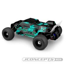 JConcepts 0374 Traxxas Rustler VXL F2 Stadium Truck Body w/Spoiler (Clear)