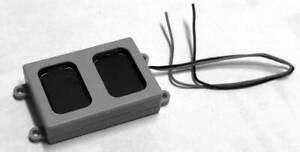 Bowser HO Scale #691-1294 Sugar Cube Speaker - 17.5 x 25.5 x 6.7 mm