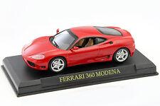 Ferrari 360 Modena Année de construction 1999-2005 Rot 1 43 Altaya