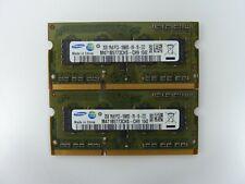 Samsung 4GB (2x 2GB) DDR3-1333Mhz Laptop Memory PC3-10600S RAM 1Rx8