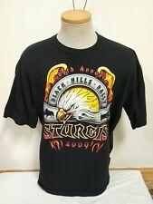 Sturgis 69th Annual Black Hills Rally 2009 Men's T Shirt Motorcycle XL 1X Black