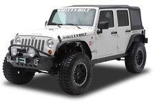 Smittybilt XRC Front & Rear Flat Fender Flares 2007-2016 Jeep Wrangler JK 76837