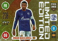 Panini Adrenalyn XL Fifa 365 2021 Edition Limitée Omar Mascarell