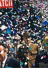 PARIS MATCH n° 781  2 mars 1964 * De Gaulle au Mexique * navire La Jeanne d'arc