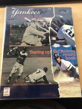 1987 NEW YORK YANKEES Yearbook Gehrig, Mantle, Mattingly, Rickey Henderson
