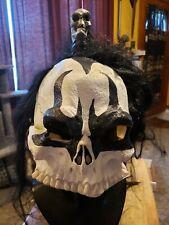 Skull Half Mask, Barbarian, Kiss, Gene Simmons, horror, Halloween