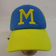 Milwaukee Braves Mesh Adjustable Snapback Hat Miller Lite League Baseball Cap