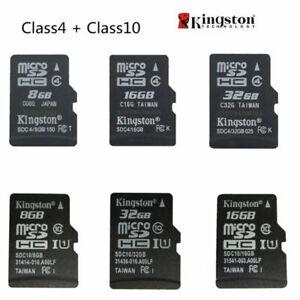 Kingston 4GB 8GB 16GB 32GB 64GB MicroSD SDHC Class 4 Class 10 TF Memory Card