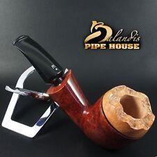 Outstanding WOROBIEC Nr 88 TEAK KING Briar Italian Wood Handmade Smoking Pipe