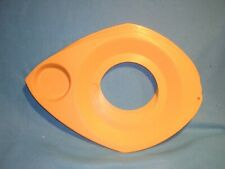 Wilpak Paper Plate and Cup Holder Set of 4 Orange, Camping, Sporting Events