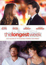 The Longest Week (DVD, 2015, WS)  Jenny Slate, Olivia Wilde, Billy Crudup  NEW