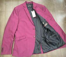 "DRYKORN FOR BEUTIFUL PEOPLE 42""  Purple/Burgundy Blazer Jacket DESIGNER RRP 199€"