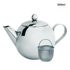 Cuisena 98651 Stainless Steel Teapot With Filter 850ml