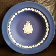 "VINTAGE Wedgwood Jasperware inglese 7"" Polizia metropolitana Piastra COMMEMORATIVA"