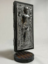 Star Wars Princess Leia in carbonite resin statue han solo custom figure