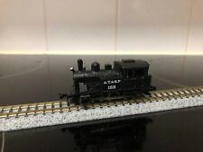 N gauge Lifelike ATSF 123 steam tank loco switcher 0-6-0