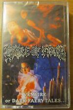 Cradle Of Filth – Vempire Or Dark Faerytales... cult black metal tape SEALED