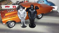 NHRA 1/18 Nitro Drag Racing Driver Figure Unpainted Custom Made for your Diorama