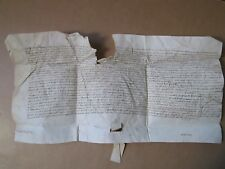 DOC MS 1397 : ASSIGNATION PAR LE CHEVALIER VERT, Blois.