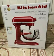 KitchenAid Professional 600 Series Stand Mixer - 6 Qt, Red