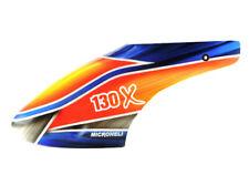 Microheli Blade 130x Airbrush Fiberglass Gopher Canopy 130 x